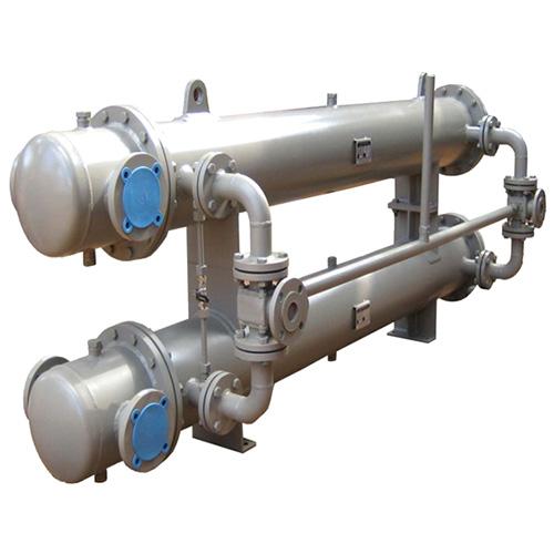 Double Bundle Condenser Heat Exchanger